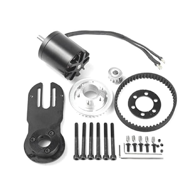 83mm 90mm 97mm Electrical Skateboard 1800W Motor 5M Gear 270mm Belts Kit And Motor Mount Parts Riserpad Skateboard Accessories