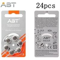60 30 PCSx Hearing Aid Batteries 13A Zinc Air A13 P13 PR48 Battery For BTE Hearing
