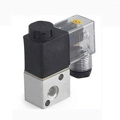 3 Way 2 Position Pneumatic Solenoid Valve 1/8 DC 12V sy5000 l plug connector pneumatic solenoid valve dc 12v