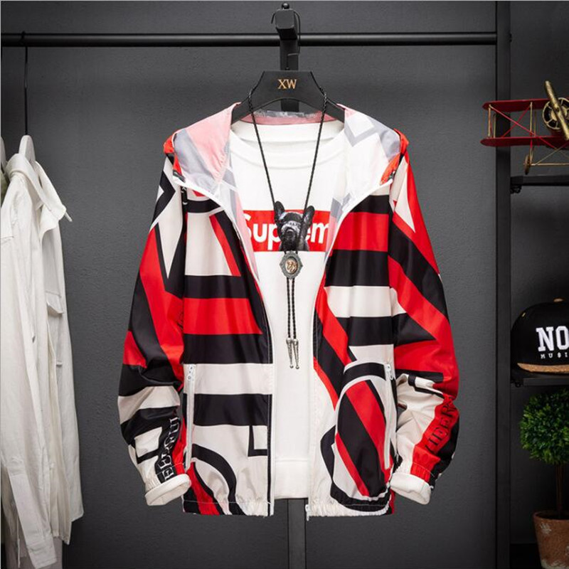 S-5XL Plus Size Women's Hooded Jackets Summer Causal windbreaker Women Basic Jackets Coats Zipper Lightweight Jackets  Thin Ja