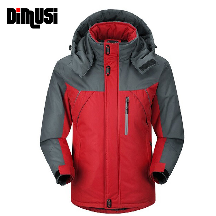 2016 New Brand Men S Down Jacket Thicken Windrunner Winter Cotton Hooded Down Jacket Casual Plus