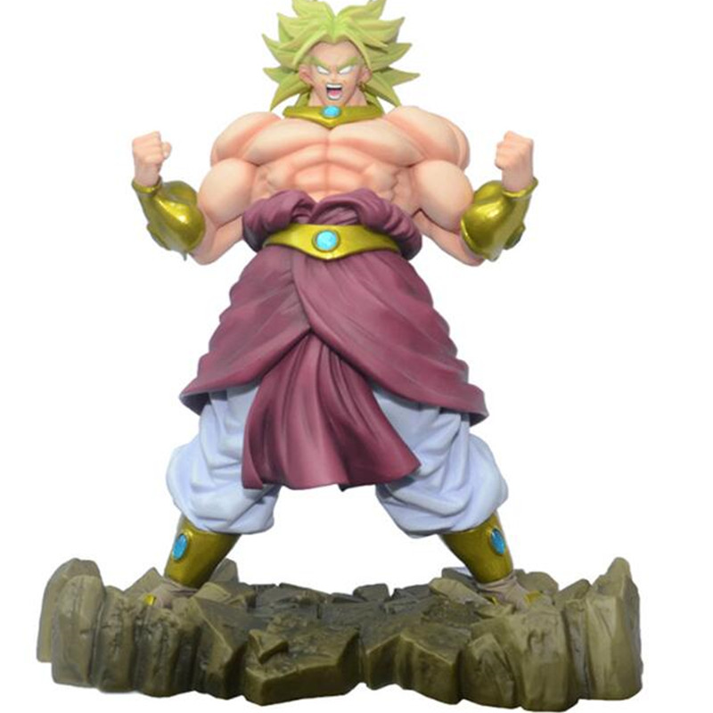 MegaHouse Dimension of Dragon Ball Broli Dragon Ball Z PVC Action Figure 25CM DOD Figuarts Collectible Model Toy DBZ Figu фигурка planet of the apes action figure classic gorilla soldier 2 pack 18 см