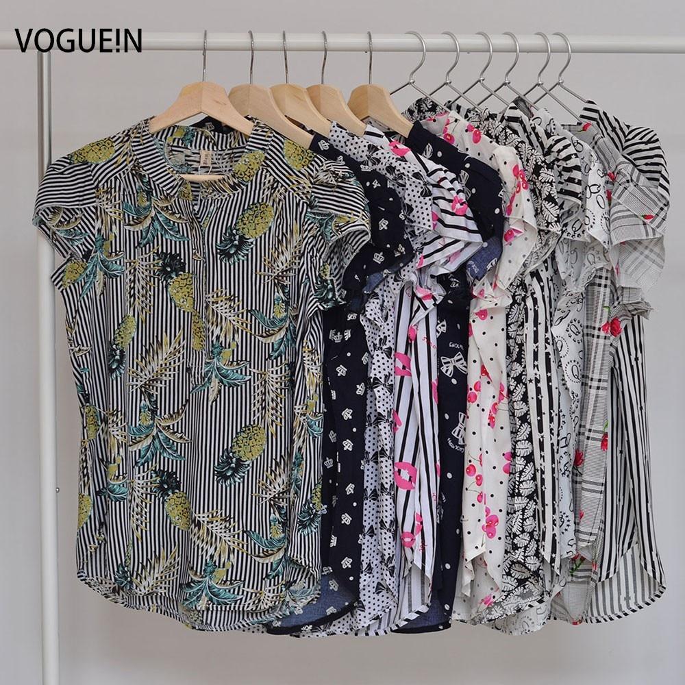 VOGUE! N Uued Naiste vabaaja lühikeste varrukatega pluus Kaktus - Naiste riided