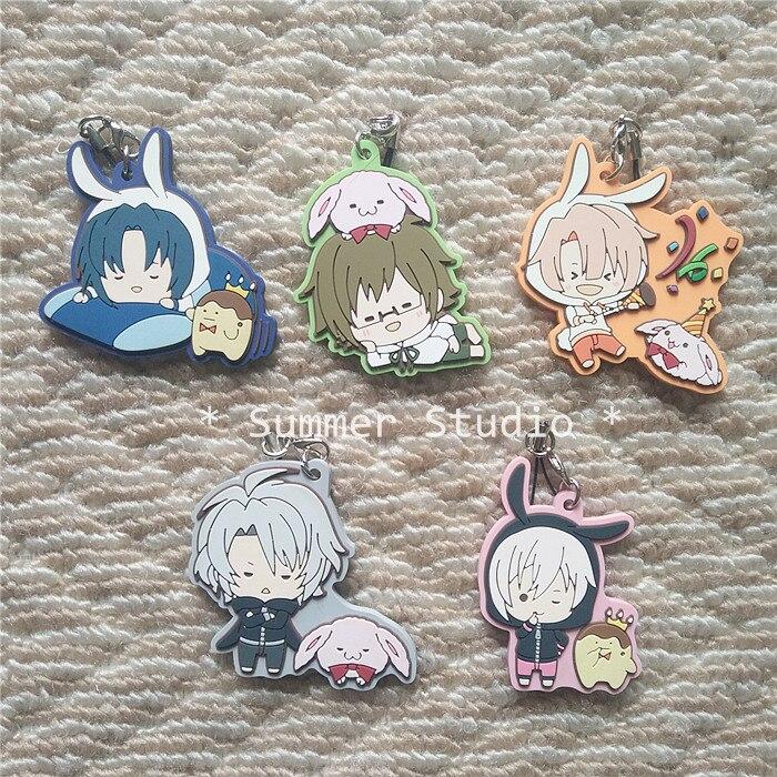 IDOLiSH7 GAME Izumi Iori KUJO TENN Yamato IZUMI MITSUKI Gaku Tenn Rubber Keychain