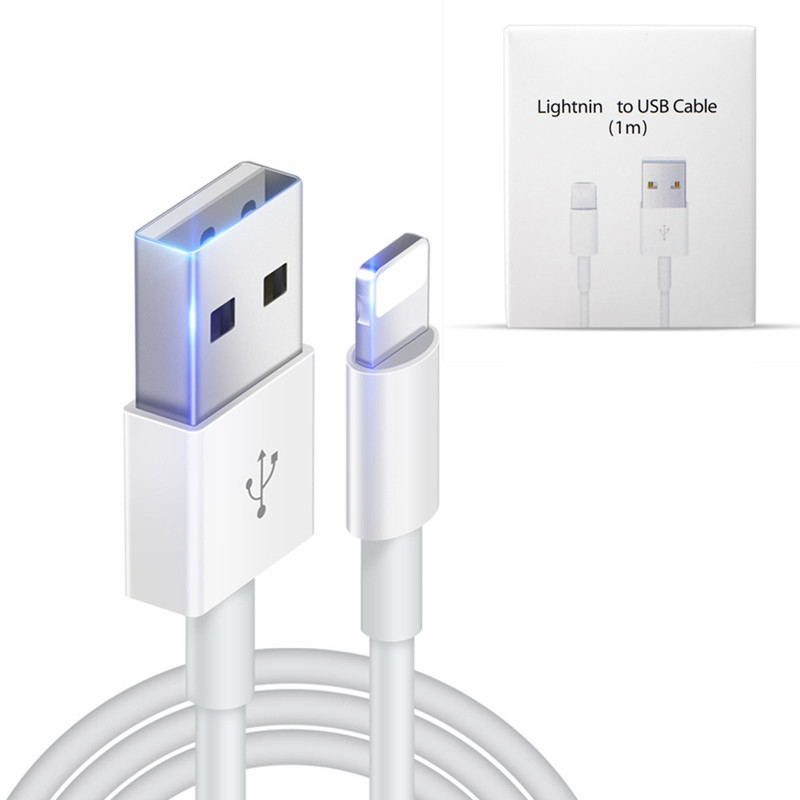 Original USB Cable Fast Charging USB Charging Data Sync Cable For iPhone X 8 7 6 6S Plus