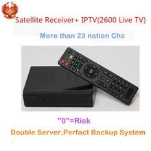 HAOSIHD R1 iptv italia with 1 Year iptv decoder satellite receiver free 3100 Europe France Sweden Live TV Sport Movies News Kid
