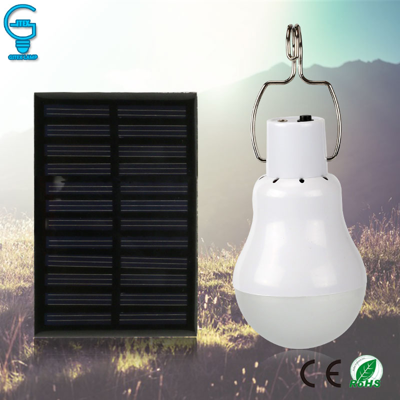 Objective Led Solar Bulb Outdoor Solar Light 15w 130lm Solaire Lamba Lantern Solar Energy Charged Camping Light Tent Solar Lamp Warm And Windproof Lights & Lighting