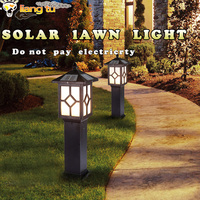Lawn lamp garden outdoor waterproof solar landscape light led lawn light district outdoor street lamp garden villa