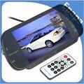 Ayuda del Estacionamiento del coche Cámara de Visión Trasera del Monitor del Espejo Inverso Soporte MP5 SD/USB FM Radio DVD, 7 ''TFT LCD de Pantalla Táctil
