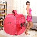 2015 Free shipping Portable Sauna / spa steam room red SAUNA BOX mini sauna steam Fumigation pot
