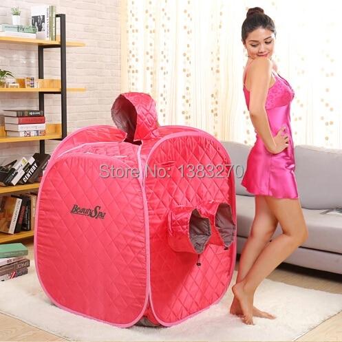 2017 Free shipping Portable Sauna / spa steam room red SAUNA BOX mini sauna steam Fumigation pot arcadia spa ex red mountains 4 эйлат