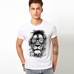 New brand clothing 3d t shirt men comfortable tshirt lion printed 3d fitness man t shirt.jpg 250x250