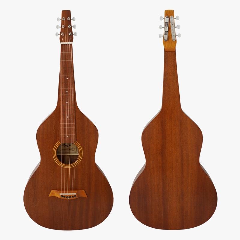Vintage 1920 hawaiian guitar style All solid Mahogany Body Hawaiian Weissenborn slide Guitar Model HG001S все цены
