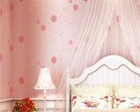Beibehang Romantic Pastoral Nonwovens Wallpaper Kids Room Background Cartoon Warm Dandelion 3d Wallpaper Papel De Parede