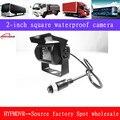 2 дюймовая квадратная камера для автобуса грузовика 130 Вт пикселей AHD HD Автомобильная специальная камера Автомобильная камера