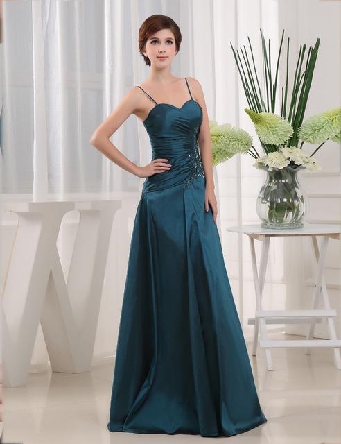 Não é Real de Noiva Vestidos de Festa À Noite 2016 Formals Sem Mangas de Cristal Frisado do Assoalho-comprimento Longo de Uma Linha Mãe De o Vestido Da Noiva