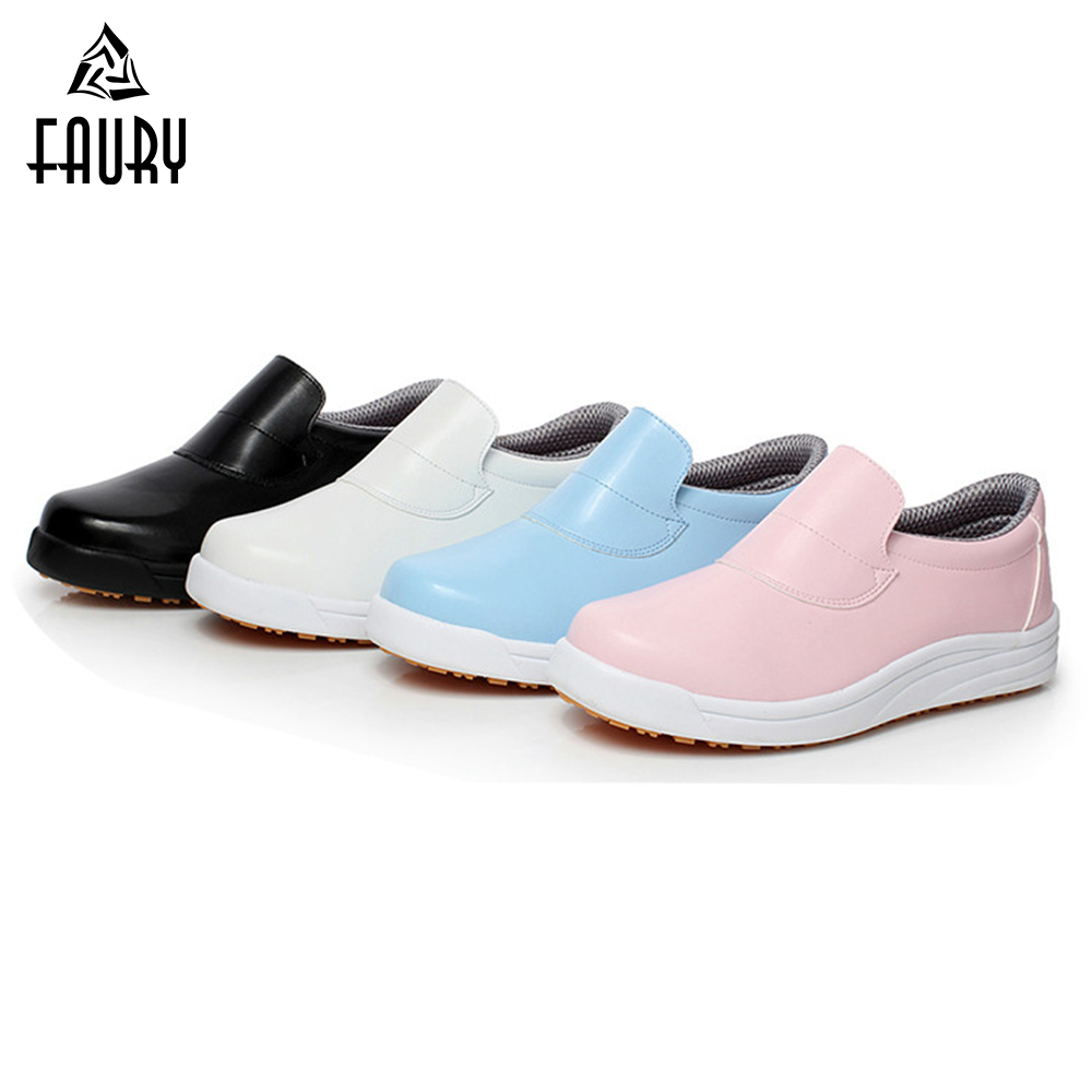 Chef Shoes Non-slip Waterproof Oil-resistant Wear-resistant Breathable Spring Summer Kitchen Food Service Workshop Work Shoes