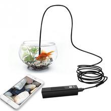 Гибкий Крюк дизайн магнит боковое зеркало для 8 мм Depstech беспроводной Эндоскоп камера водонепроницаемый мягкий кабель инспекции
