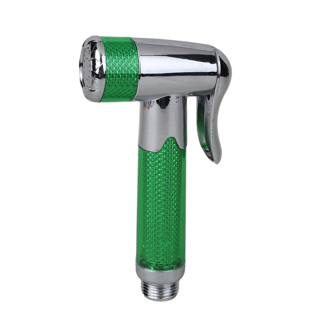 Переносной Талет распылитель для пеленок ABS держатель шланга из нержавеющей стали - Цвет: Green