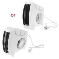 Mini aquecedor elétrico portátil espaço escritório em casa inverno aquecedor de ar ventilador novo