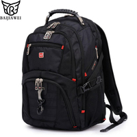 BAIJIAWEI 2017 New 15 Laptop Backpack Large Capacity Backpack Mochilas Bagpack Men Casual Travel Bags Packsack
