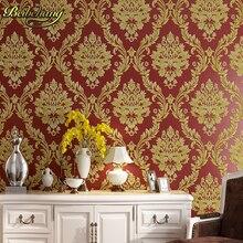 Beibehang rollo Wallpapers Europea Damasco papel de parede 3d Estereoscópica Gruesa Fondo de Papel de Pared para la Sala de estar Dormitorio