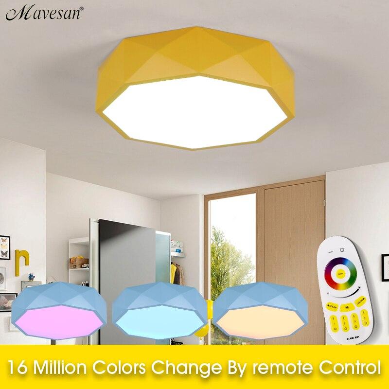 Licht & Beleuchtung Led Wohnzimmer Decken Lampe Mit Fernbedienung Indoor Hause Führte Licht Decke Plafondlamp 90 V-260 V Für 15-25square Meter Deckenleuchten & Lüfter