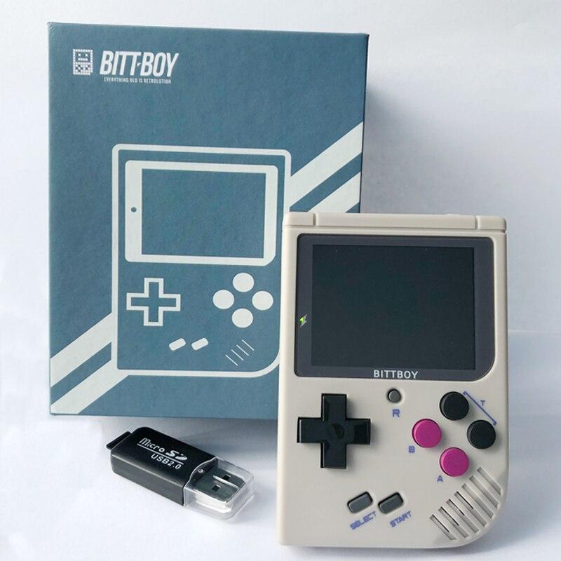 Jeu vidéo rétro, BittBoy V3.5 + 8 GB/32 GB, console de jeu, lecteurs de jeux portables, Console rétro, charger plus de jeux à partir de la carte SD - 5