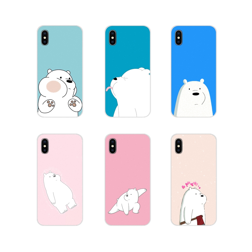Accessories Phone Shell Covers We Bare Ice Bear Panda For Huawei P Smart Mate Honor 7A 7C 8C 8X 9 P10 P20 Lite Pro Plus