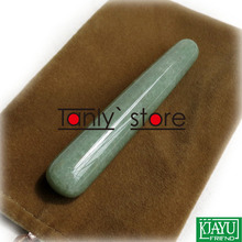 Free shipping! WholesaleTraditional Acupuncture Massage Tool Guasha Beauty stick Natural Stone 2pieces/lot (pen shape)
