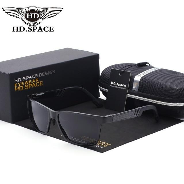 Homens polarizada óculos de sol militares populares melhores óculos de sol uv para police condução super cool anti glare viseira óculos para homens 9113