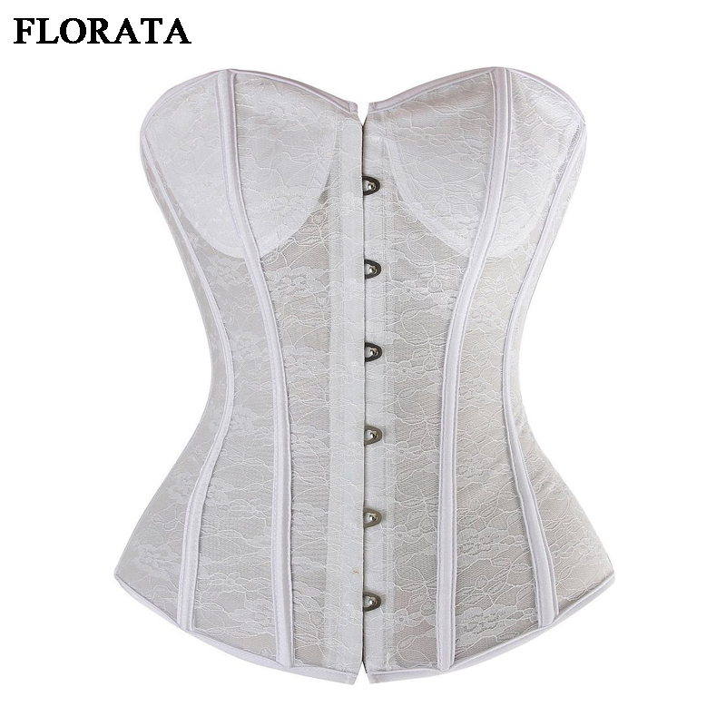10a2bfd23f Detail Feedback Questions about Summer Autumn SEXY Women Corset Overbust Black  White Waist Trainer Corselet+G String Body Bustier Size S 2XL on ...