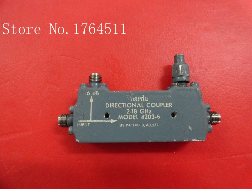 [BELLA] Narda 4203-6 2-18GHZ DC-6DB Coaxial Directional Coupler