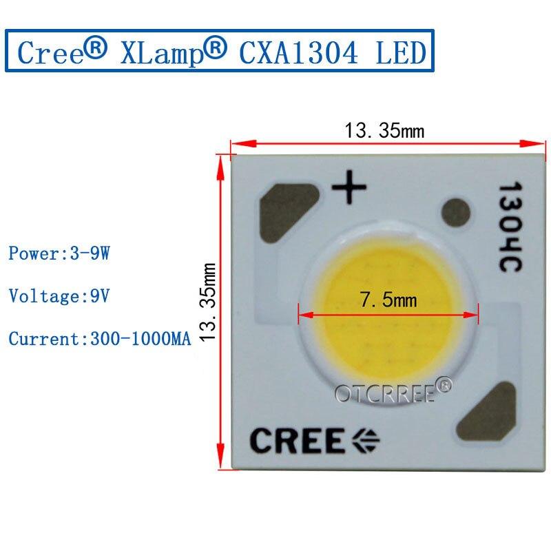 Ultra Bright 2+Watt LED CREE CXA1304 CXA Series LED XLampQty 20 LED modules