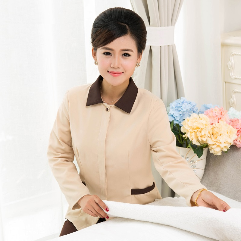 Cleaner Work-Wear Winter 10-Set-Coat--Pant Long-Sleeve And Autumn Overalls Attendant