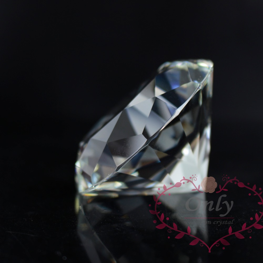 Transporti Falas 60 mm Perfect Gem Cutting Diamond Crystal Diamond - Dekor në shtëpi - Foto 3