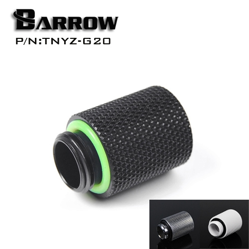 Barrow TNYZ-G20, 20mm Male To Female Extender Fittings, G1/4 Male To Female Water Cooling Fittings