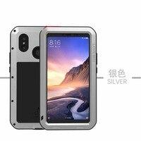 Original Brand Case Luxury Outdoor Aluminum Metal Armor Shock Proof Luxury Phone Cases Cover For Xiaomi Mi Max 3 Case JS0491