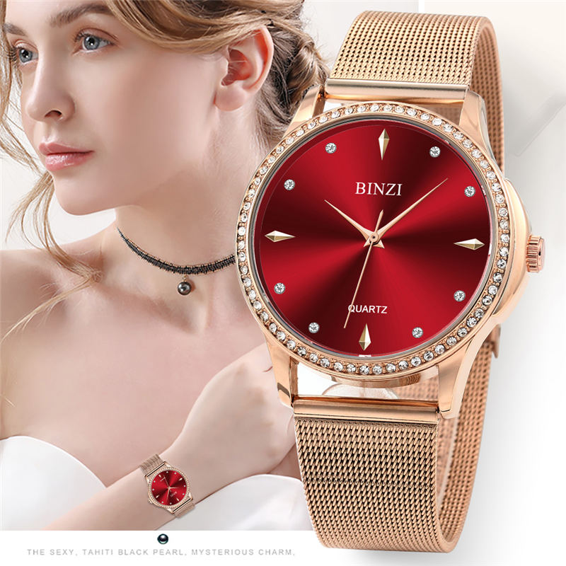 Luxury Women Watches 2018 Top Brand Ladies Rose Gold Wrist Watch For Women Bracelet Wrist Watches Fashion Relogio Feminino XFCSLuxury Women Watches 2018 Top Brand Ladies Rose Gold Wrist Watch For Women Bracelet Wrist Watches Fashion Relogio Feminino XFCS