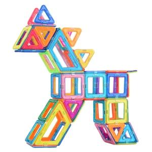 Image 2 - VINEDI Big Size Magnetic Designer Construction Set Model & Building Toy Magnets Magnetic Blocks Educational Toys For Children
