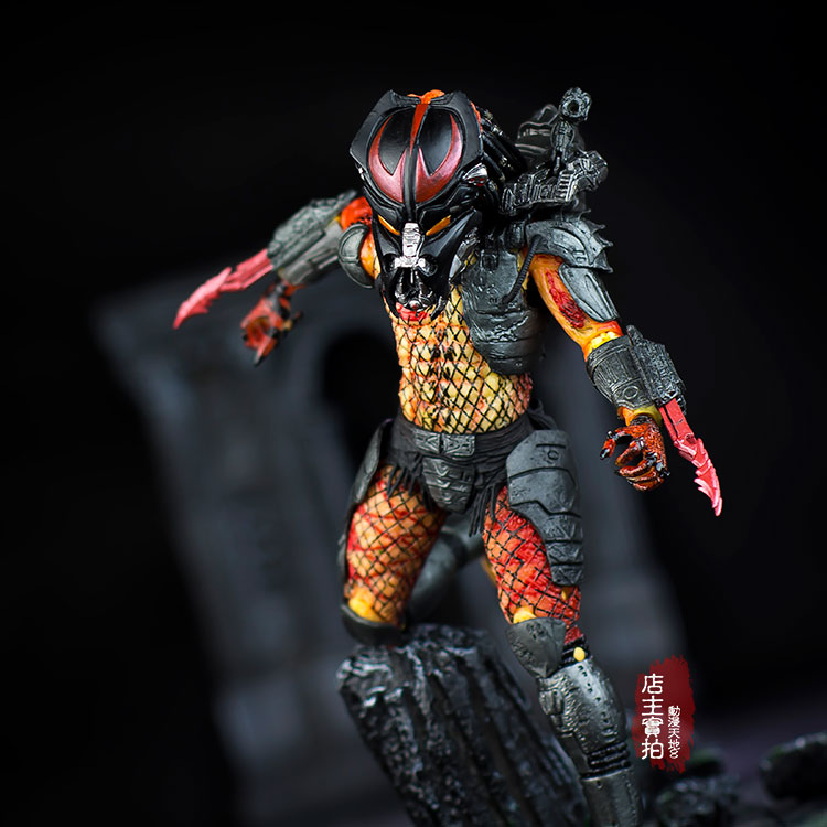 Predator VS Alien Viper Predator Elder wolf predator Python with Mask Motivated Action Figure Model NECA 6pcs set alien vs predator mini classic predator pvc brinquedos collection figures toys with retail box anno00395a