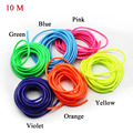 six color style 5*8mm size 10 meter length a pack scooter modify fuel lines tube universal case for KTM motorcycle,motorbike,ATV
