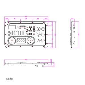 Image 4 - Bluetooth аудио микшерная консоль, MP3 модуль записи гитары Mic W. Оптический коаксиальный вход Aux, аналоговый выход I2S, USB