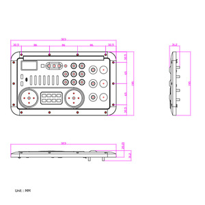 Image 4 - Bluetooth ses ses karıştırma konsolu MP3 modülü kayıt gitar mikrofon W. optik koaksiyel Aux girişi Analog I2S çıkış spektrum USB