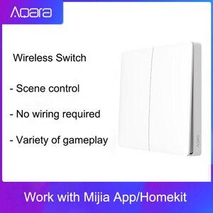 Image 1 - Настенный выключатель Aqara, умный светильник, Wi Fi, 2,4 ГГц