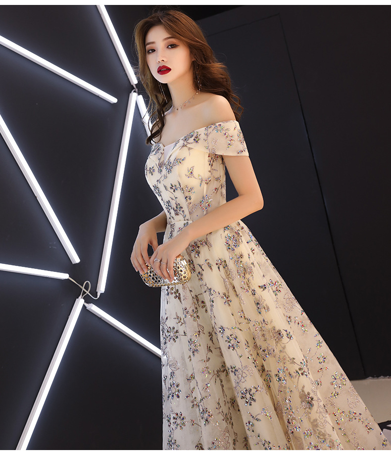 Sequined Giảm Dress Phụ 5