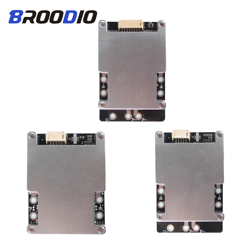 <font><b>BMS</b></font> 3S <font><b>4S</b></font> 80A 100A 120A <font><b>150A</b></font> 160A 200A 3.7V 18650 Lithium Battery Power Protection Board Polymer Li-ion Charger <font><b>BMS</b></font> With Balance image