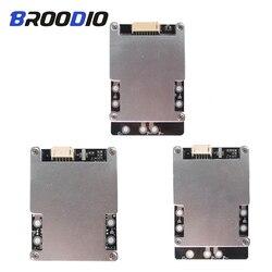 Bms 3 s 4S 80a 100a 120a 150a 160a 200a 3.7 v 18650 bateria de lítio placa de proteção de energia polímero li-ion carregador bms com equilíbrio