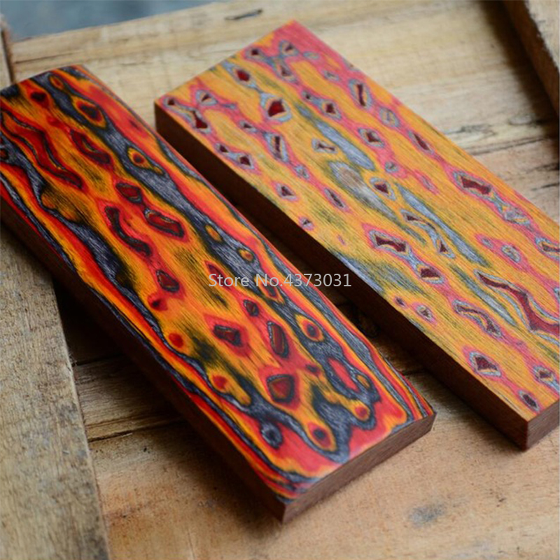1pc 3D Wood Knife Tools Making Knife Handle Material Bow Arrow Timber Catapult Handle Material DIY Patch Accessories 120x40x10mm