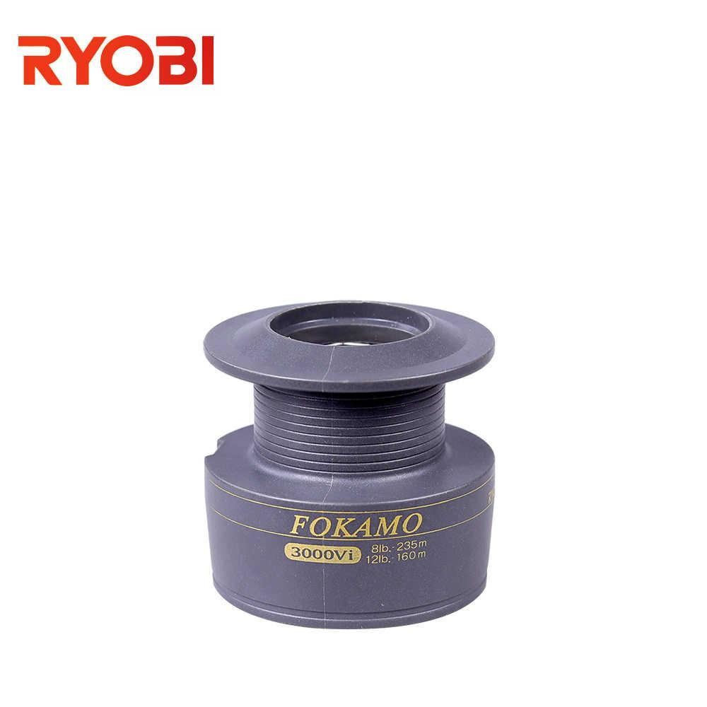 RYOBI FOKAMO Vi 1000-4000 de Metal de gran pez carrete giratorio de agua salada en forma de V más carrete carpa giro de rueda carretes de pesca